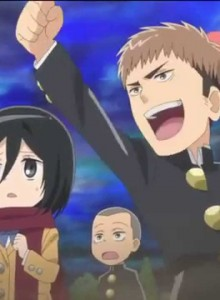 Shingeki! Kyojin Chuugakkou anyanime