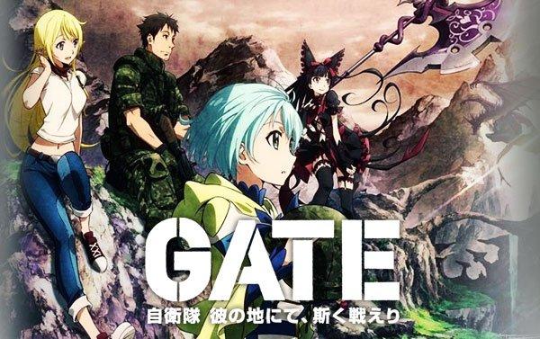 Gate: jieitai kanochi nite, kaku tatakaeri - enryuu-hen
